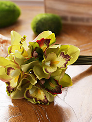 7 Branch/Bouquet Cymbidium Bouquet Artificial Flower