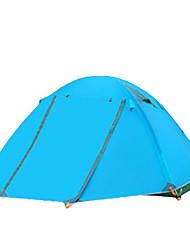 FlyTop® 3-4 Personen Zelt Doppel Einzimmer Camping Zelt >3000mmFeuchtigkeitsundurchlässig Wasserdicht Atmungsaktivität Schnell-Trocknung