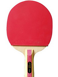 1 Star Table Tennis Rackets Ping Pang Wood Long Handle Pimples Indoor-#