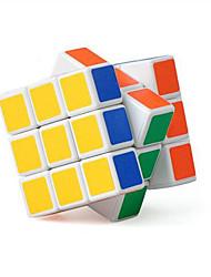 Brinquedos Cube velocidade lisa 3*3*3 Novidades Alivia Estresse / Cubos Mágicos Branco ABS / Plástico