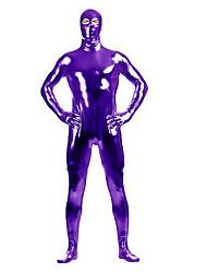 """Блестящие костюмы на все тело """"зентай"""" Morphsuit Ниндзя Костюмы зентай Косплэй костюмы Черный Лиловый Золотой Серебро Однотонный"""