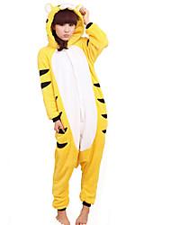 kigurumi Pyjamas Tiger Collant/Combinaison Fête / Célébration Pyjamas Animale Halloween Mosaïque polaire Kigurumi Pour Unisexe Halloween