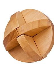 Assemblage & Dextérité Kong Ming verrouillage Jouets Nouveaux Jouets Circulaire Bois Kaki Pour Garçons Pour Filles5 à 7 ans 8 à 13 ans 14