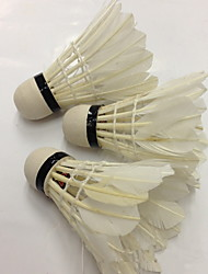 Badminton Shuttlecocks High Strength High Elasticity Durable for Indoor Outdoor Performance Practise Leisure Sports Duck Feather