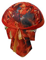 XINTOWN Flaming Phenix Outdoor Cycling Headbands Long Bike Bicycle Sports Cap Bandana Hat Scarf Mens and Womens Riding Cap Red