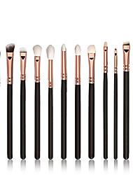12 Contour Brush / Eyeshadow Brush / Lip Brush / Brow Brush / Eyeliner Brush / Liquid Eyeliner Brush / Concealer BrushNylon / Synthetic