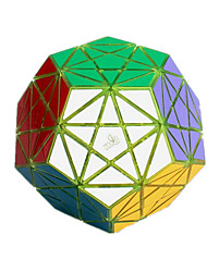 Toys Smooth Speed Cube Megaminx Novelty Stress Relievers Magic Cube Transparent Yellow Plastic