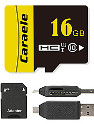 Caraele 16GB Micro SD card Class 10 80 OtherMultiple in one card reader Micro sd card reader SD card reader CF card reader Memory stick reader
