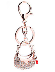Key Chain Diamond Key Chain Gold Metal