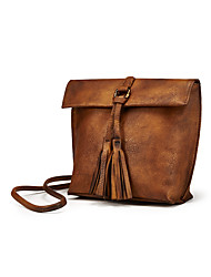Women Cowhide Casual / Event/Party / Outdoor / Office & Career Shoulder Bag