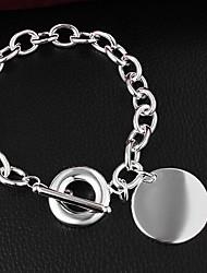 Bracelet Chaînes & Bracelets Argent sterling Autres Amitié Quotidien / Décontracté Bijoux Cadeau Argent,1pc