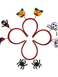 Аксессуары для Хэллоуина Товары для отпуска 7Pcs Halloween Пластик Серебристый