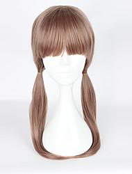 Cosplay Wigs Cosplay Cosplay Brown Medium Anime Cosplay Wigs 55cm CM Heat Resistant Fiber Female