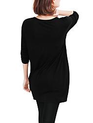 2016 neue Frauen&# 39; s aliexpress eday Außenhandel in der langen Abschnitt mit langen Ärmeln Frauen&# 39; s T-Shirt