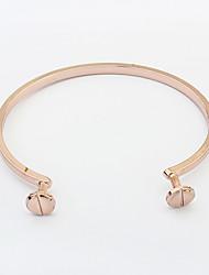 Women's Cuff Bracelet Copper Fashion Silver Golden Jewelry 1pc