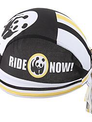 Panda del xintown nuevo bandana del bandana del montar a caballo de la bici de la bici de la bici del sombrero del pirata& blanco