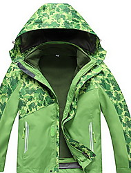 Hiking Tops Men's / Kid's Waterproof / Thermal / Warm / Windproof / Insulated / Comfortable Spring / Fall/Autumn / Winter TeryleneGreen /