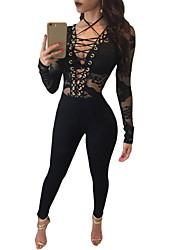 Women's Club Sexy Bodycon Dress,Floral Round Neck Maxi Long Sleeve Black Silk Summer Mid Rise Micro-elastic Thin