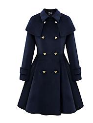 mg elefantino 2016 cappotto nuovo autunno e l'inverno il mantello di lana lungo tratto di lana cappotto giacca cappotto femminile ni