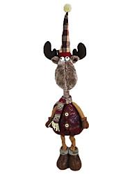 Weihnachtsdeko Weihnachts Geschenke Spielzeug für Weihnachten Urlaubszubehör Weihnachten Gewebe Rot