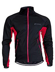 Nuckily Jaqueta para Ciclismo Unisexo Moto Camisa/Roupas Para Esporte Térmico/Quente A Prova de Vento Respirável Poliéster Tosão Retalhos