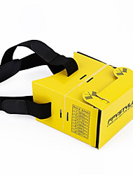 1 pc Foldable Yellow FPV Card Board FPV Card Glasses Paper Material