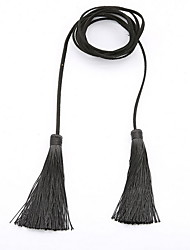 Necklace Statement Necklaces Jewelry Daily Casual Others Tassel Fabric Women 1pc Gift As Per Picture