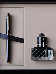 5020 Gifts Pen Exquisite Set Black Iridium Gold Pen  Ink
