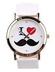 Women's Fashion Watch Quartz / PU Band Casual White Brand