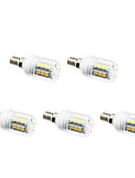 3W E14 Lampadine LED a incandescenza 27 SMD 5050 200 lm Bianco caldo / Luce fredda AC 220-240 V 5 pezzi