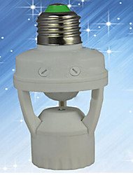zweihnder®110v-240v mini-sensores corporales infrarrojos e27 gran casquillo de la bombilla de tornillo para todas las lámparas