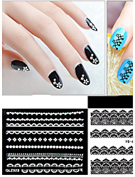 30 Nail Sticker Art Autocollant dentelle Maquillage cosmétique Nail Art Design