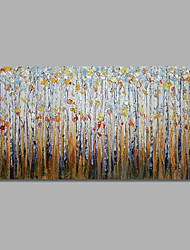 IARTS Handpaint Modern Forest Colorful 2 Sizes Canvas Inner Stretcher