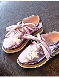 Girl's Oxfords Comfort PU Casual Pink Gold