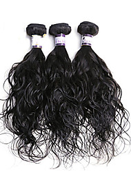 3Pcs Indian Human Hair Bundles Remy Virgin Hair Unprocessed Hair Extensions Wavy Weave Bundles