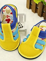 Girl's Baby Sandals Comfort Cotton Casual Yellow
