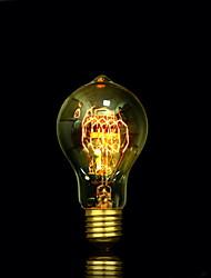 bofa a19 25w edison antique lampe boule de soie bulle (85v-265v)