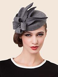 Mulheres Strass Liga Lã Capacete-Casamento Ocasião Especial Casual Chapéus 1 Peça