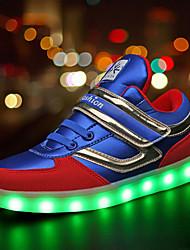 Garçon-Extérieure / Décontracté / Sport-Noir / Bleu-Talon Plat-Others / Confort-Sneakers-Synthétique