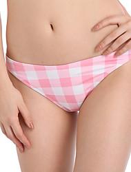 Women's Bottoms,Floral Geometric Nylon Pink