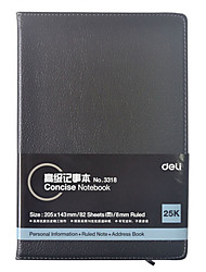 3318 Notepad Economical Leather Notebook