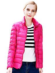Women's Fashional 90%  Down Light Jacket