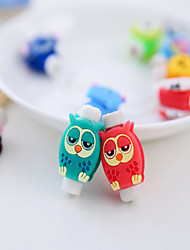 1PCS Protective Cover For Protective Cover Of Mobile Phone Earphone Of Cartoon Data Line