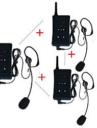 3Pcs 2017 Vnetphone Brand Latest Football Soccer Referee Intercom Motorcycle Intercom Full Duplex Bluetooth Referee Interphone Headsets