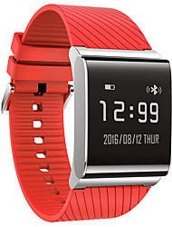 X9 Plus 24H Personal Health Coach Smart Watch Heart Rate/Blood Pressure/Blood Oxygen Monitoring - Red