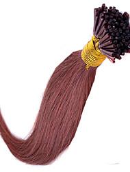 mejor venta palillo europeo virgen inclino las extensiones del pelo de la nueva llegada inclino extensiones de cabello humano de la manera