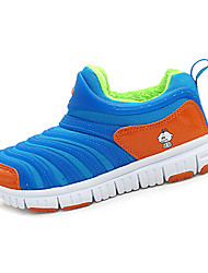 Mädchen-Sneaker-Lässig-PU-Flacher Absatz-Komfort-Lila Orange