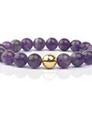 Women's Strand Bracelet Beaded Gemstone Gem Silver Golden Rose Gold Jewelry For Casual 1pc