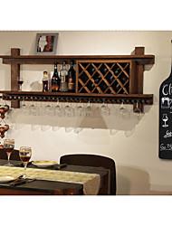 negro parede de madeira modelagem garrafas criativas estilo americano ornamento de suspensão