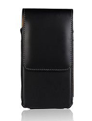 Genuine PU Cowhide Leather Flip Wallet Vertical Case Belt Clip Pouch Cover Jacket for iPhone 6